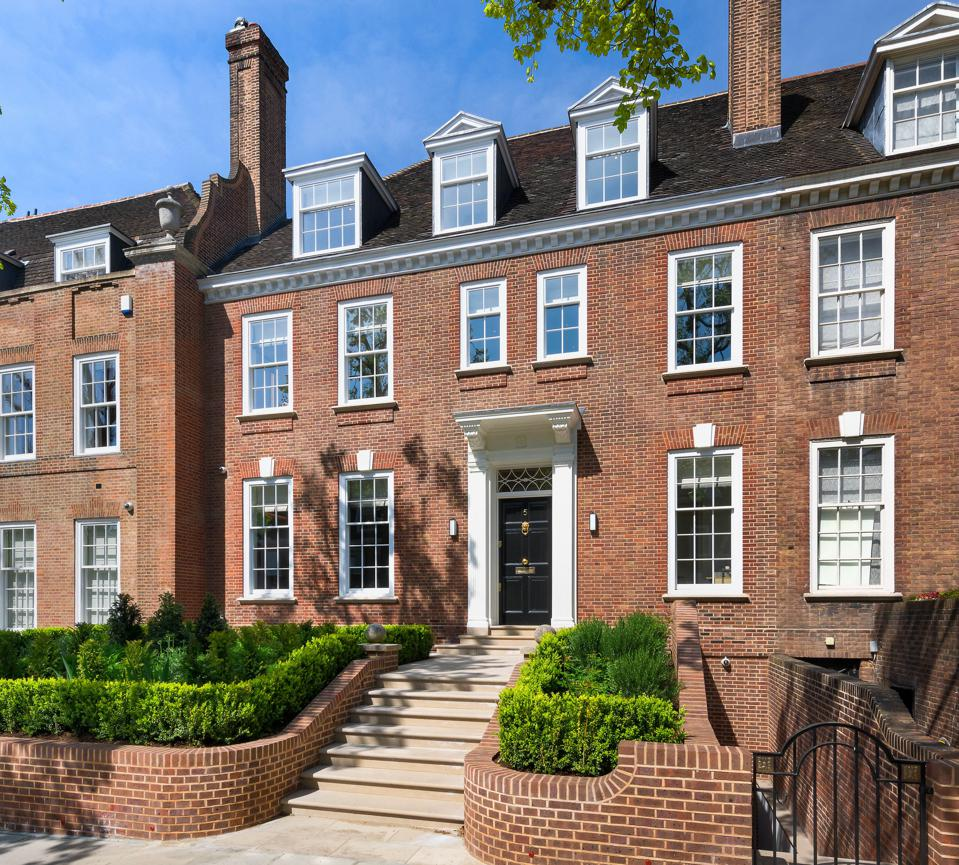 5, IIchester Place, a 7-bedroom house in Kensington, west London, is on sale for $42 million via Knight Frank
