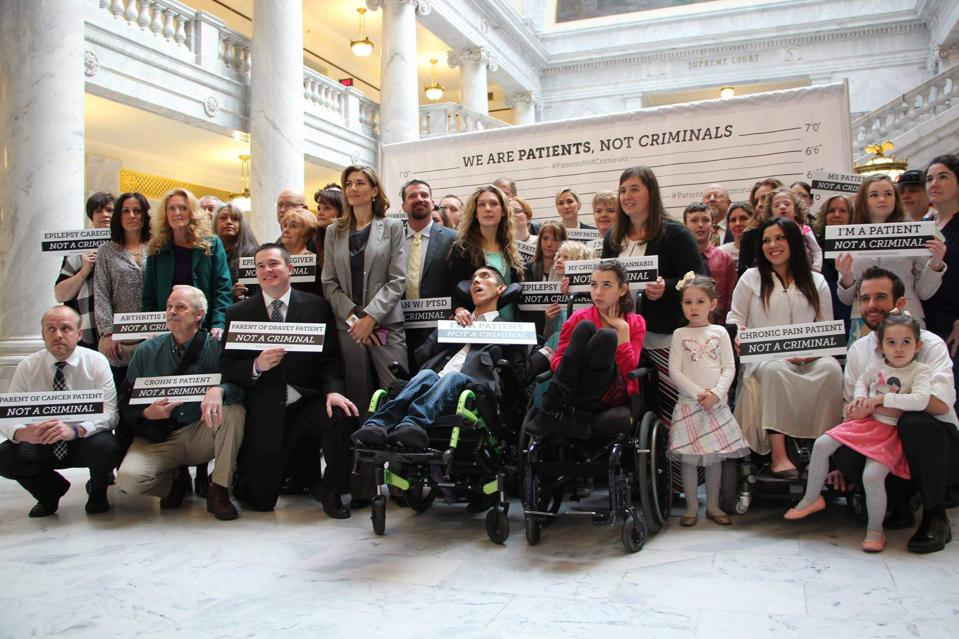 Christine Stenquist, TRUCE, and other advocates at the Utah Capitol.