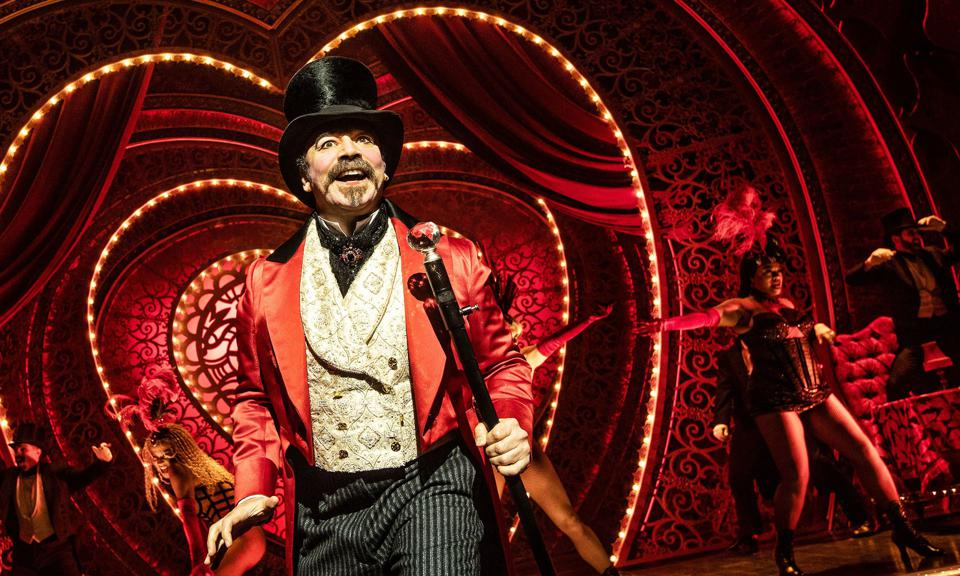 Danny Burstein in Moulin Rouge, now  nominated for 14 Tony Awards.