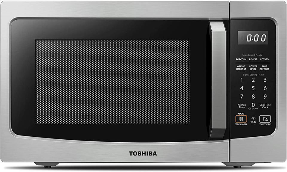 Toshiba ML-EM34P(SS) Smart Countertop Microwave Oven