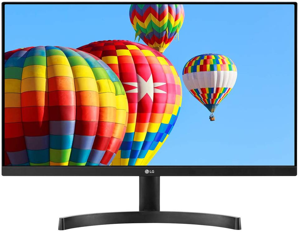 LG 24MK600M-B 24'' Full HD (1920 x 1080) IPS Display with 3-Side Virtually Borderless Design and Radeon FreeSync Technology and Dual HDMI