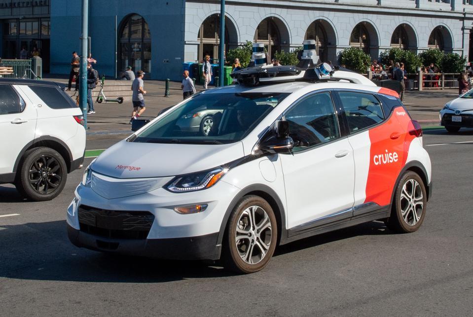 GM Robot Car Cruise