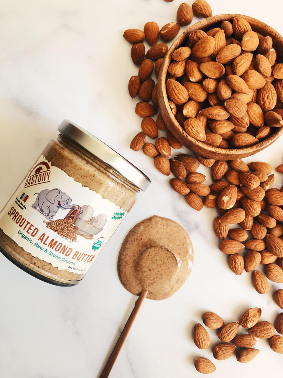 Windy City Organics sells sprouted nut and seed butters made with one single ingredient.