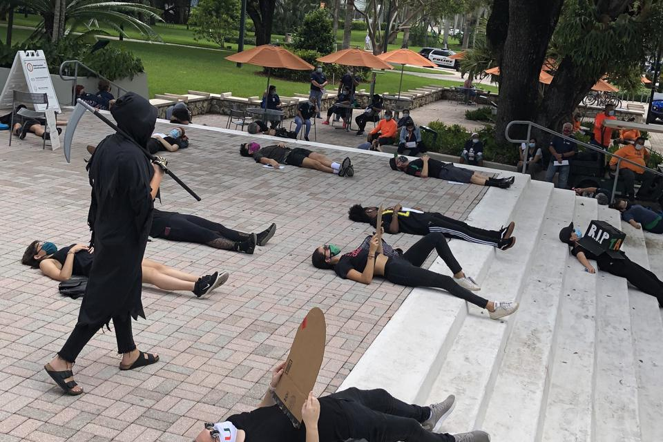 University of Miami protest