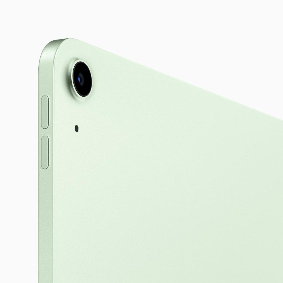 iPad Air: especially lovely in green.