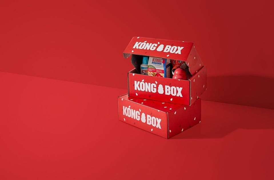 Pet subscription box, Kong Box.