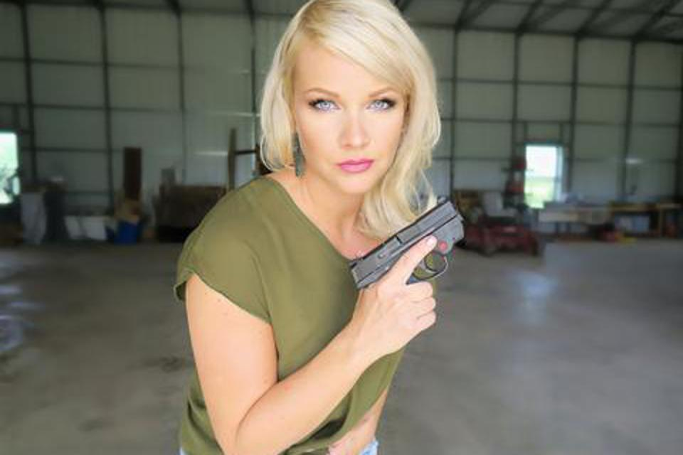 Anna Taylor, founder of concealed carry holster and apparel company, Dene Adams LLC.