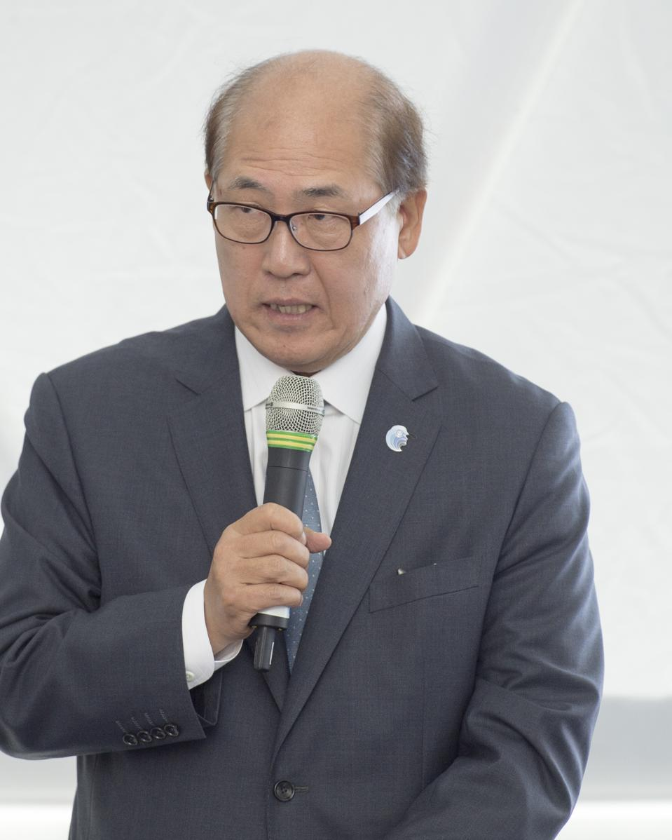 The embattled head of the IMO, Kitack Lim, whose organization has been accused of putting shipowner profits above the need of the environment