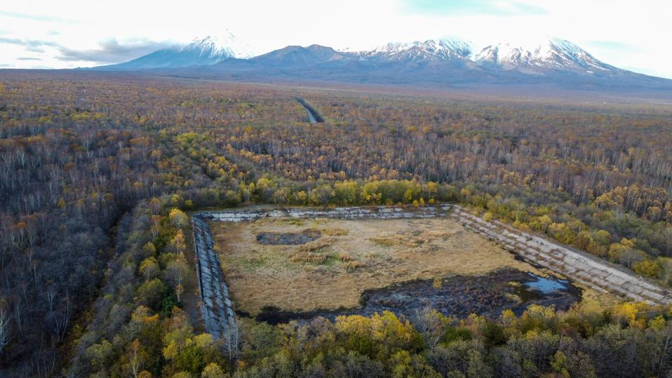 Greenpeace investigated the nearby Military Training Ground Radygino in Kamchatka