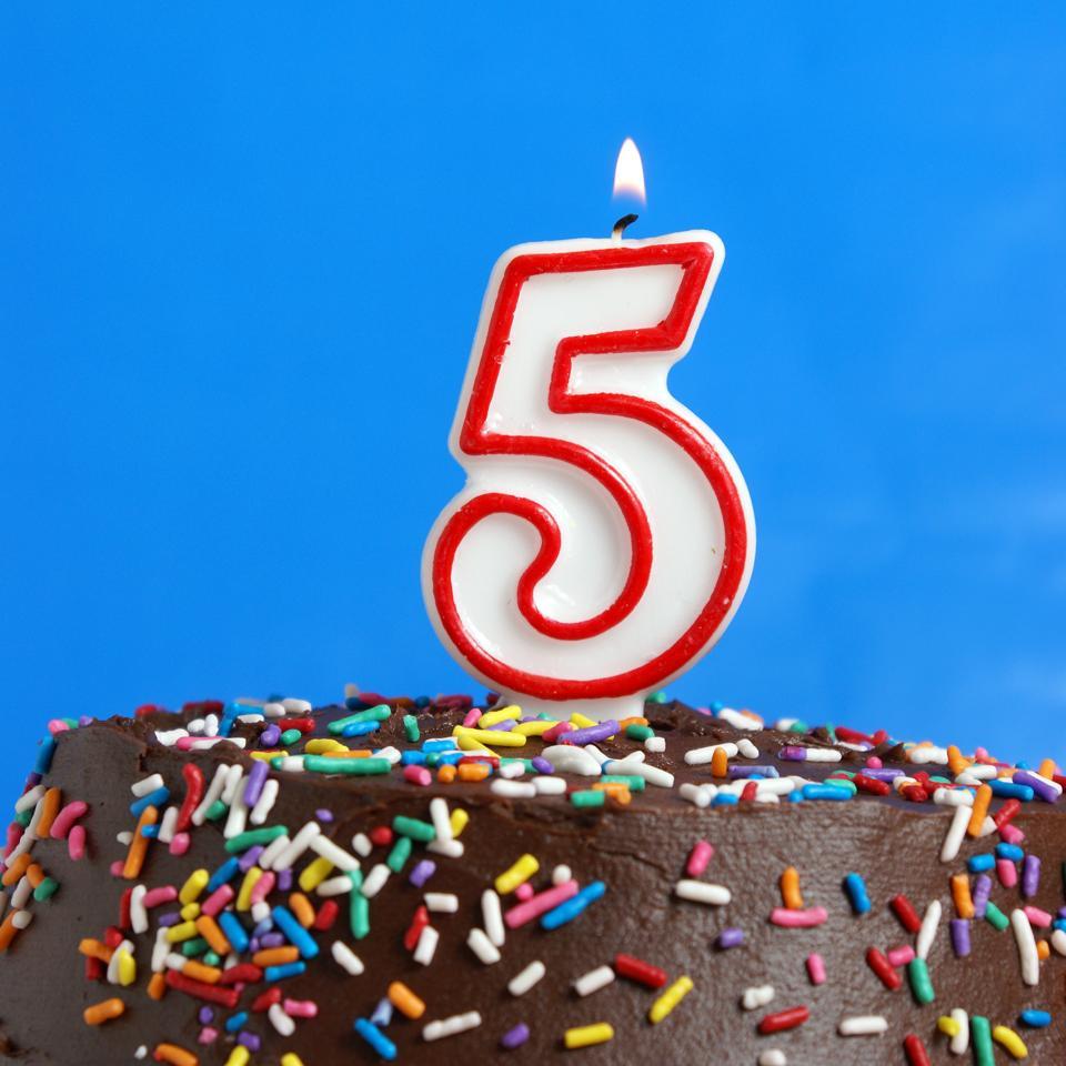 Happy fifth birthday, Enterprise Blockchain!