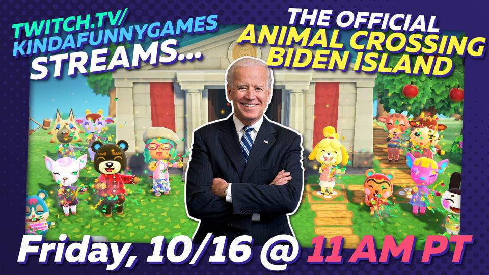 Biden Island Animal Crossing