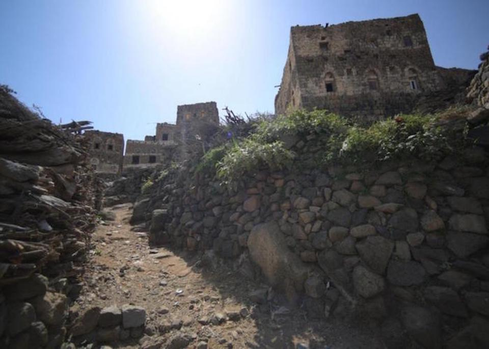Community health workers make house calls in remote rural areas like the village of Jidaw, three hourse away from the Manakhah District center in, Yemen's Sana'a Governate.