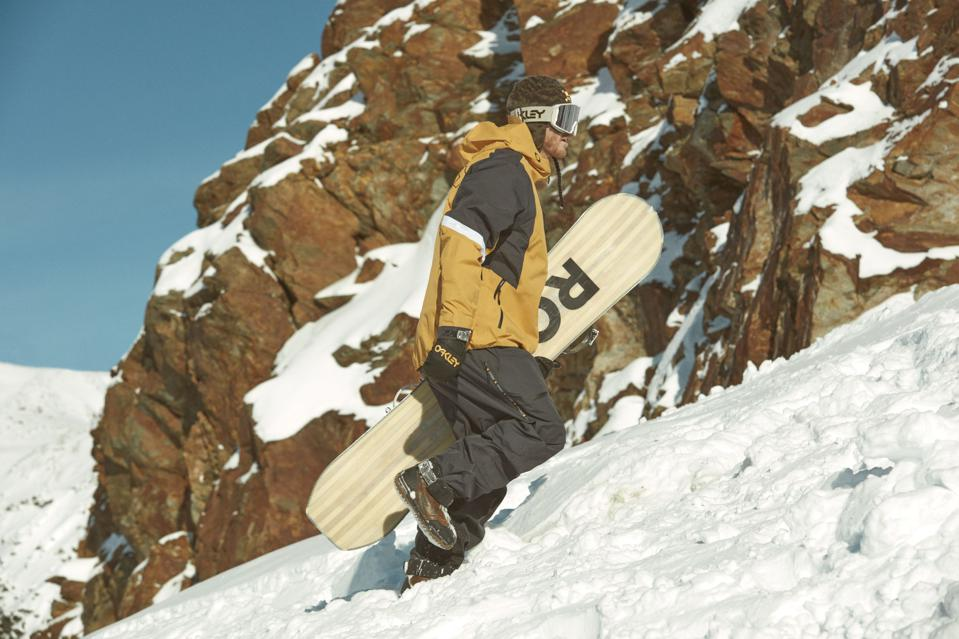Snowboarder Stale Sandbech's new Team Collection with Oakley