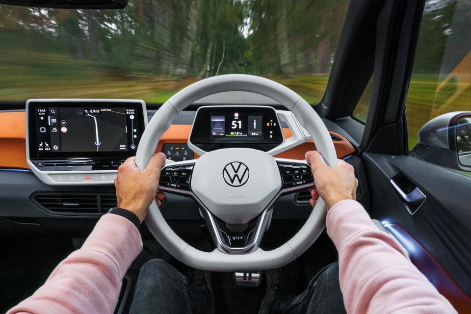 Volkswagen ID.3 interior.