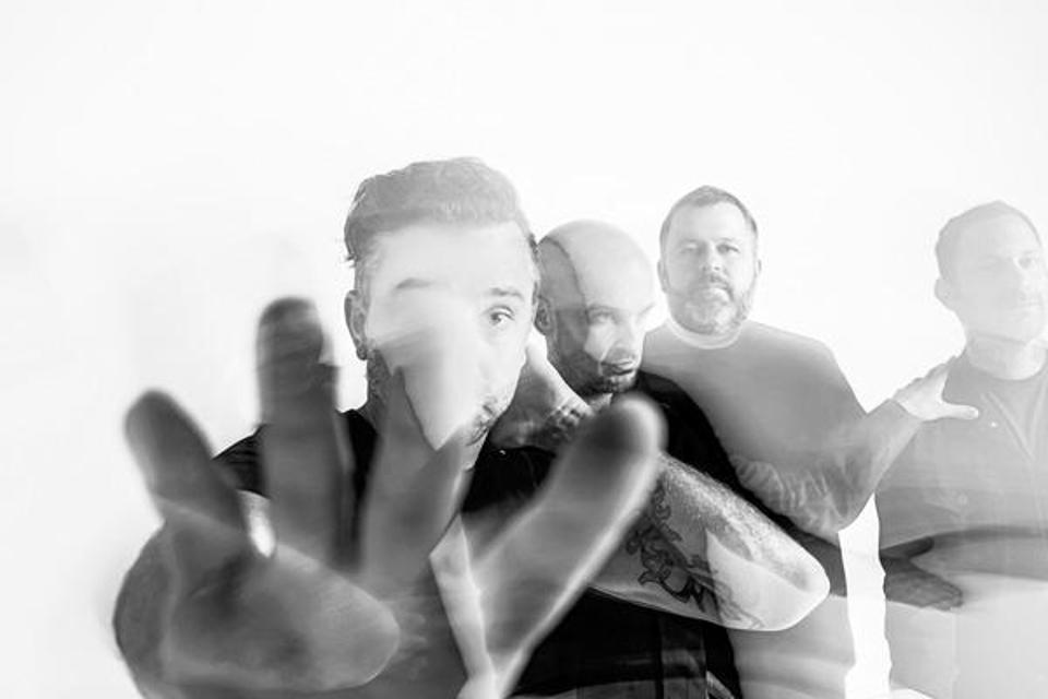 The new Rise Against single ″Broken Dreams, Inc.″ appears on the 'Dark Nights: Death Metal' featuring an animated video collaboration with DC Comics (Photo by Jason Siegel)