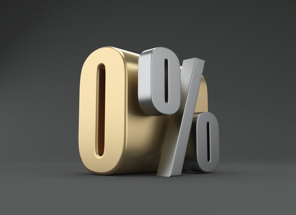 Zero Percent - 3D Rendered Image