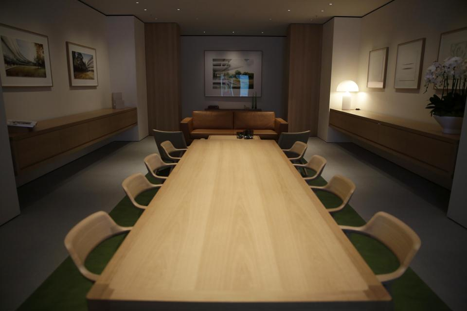 View of boardroom