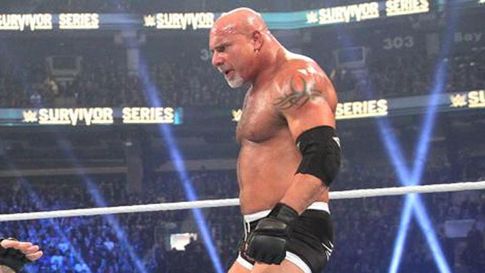 Goldberg teased a return to SmackDown for the series premiere.