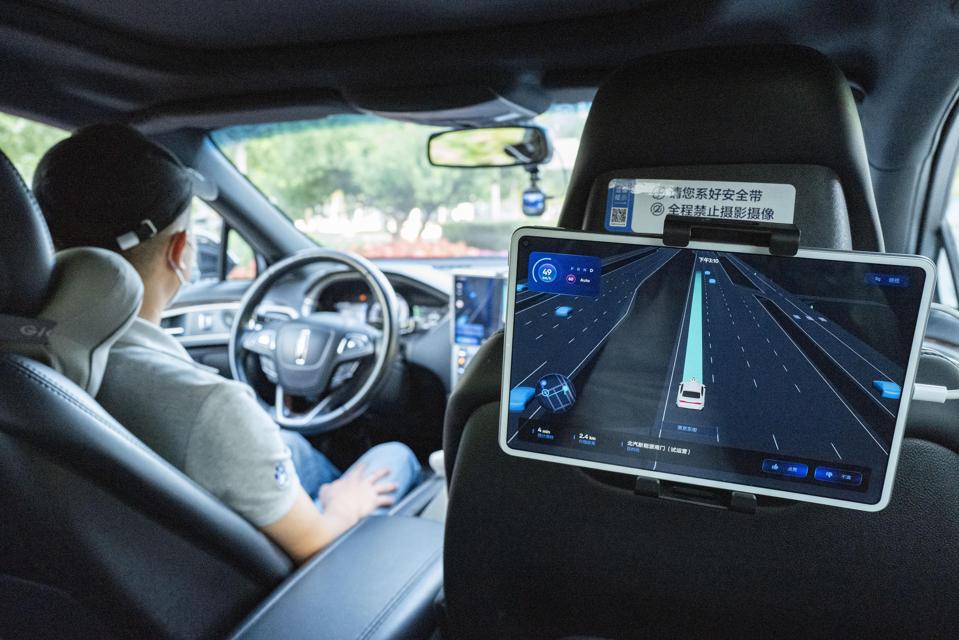Baidu Pilots Robotaxi In Beijing