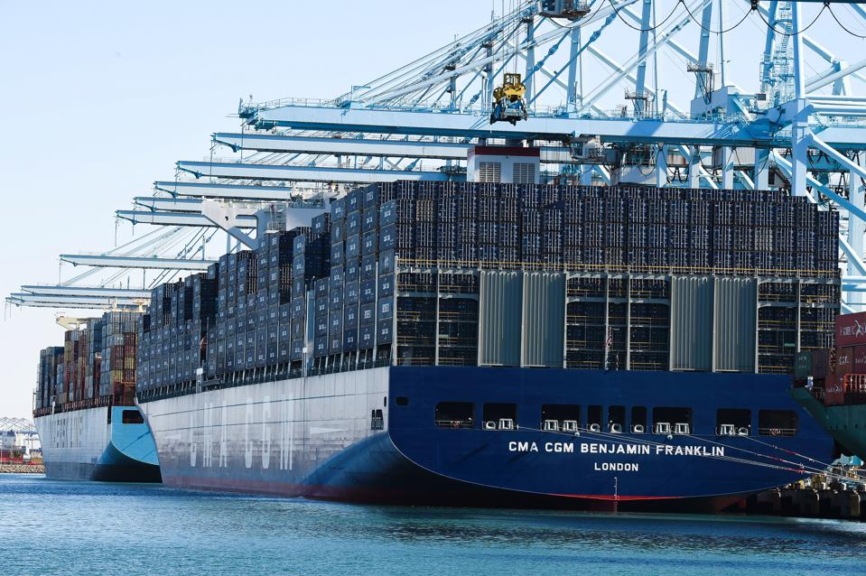 US-FRANCE-SHIPPING-CMA CGM BENJAMIN FRANKLIN