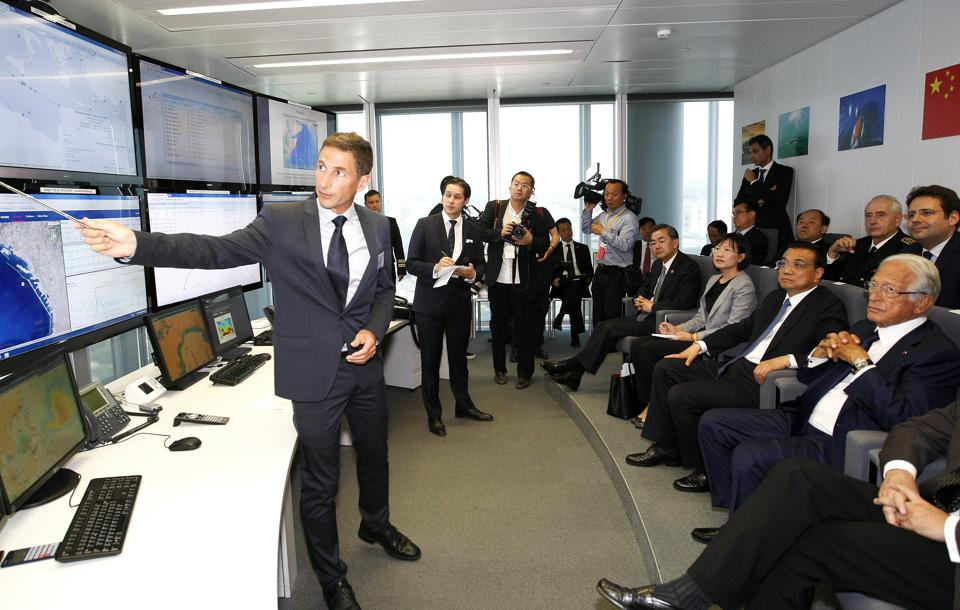 French giant, CMA-CGM's fleet center that monitors all its fleet and has the presence of captains and technicians available to offer advice 24/7f ever a ship is in difficulty