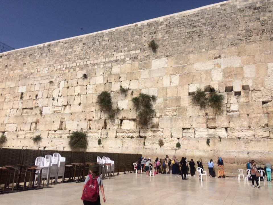 In Old City, Jerusalem, the Western Wall is one of the most visited sites in Israel.