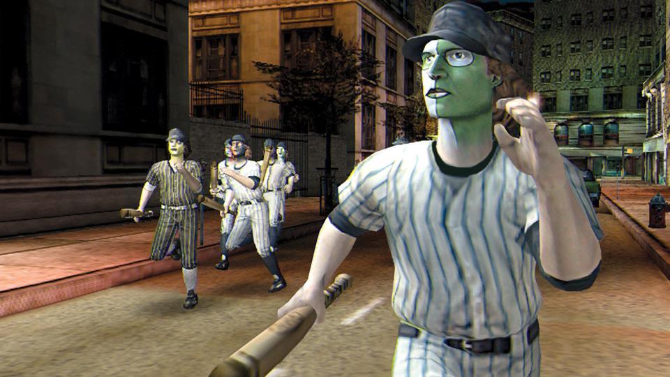 Baseball Furies in The Warriors