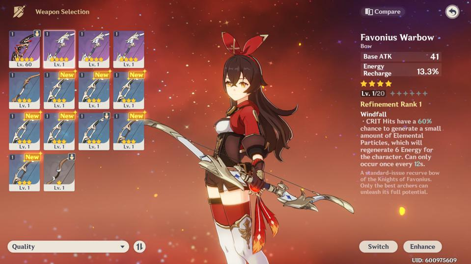 Ranking The Best Bows In Genshin Impact V1 0 Edition