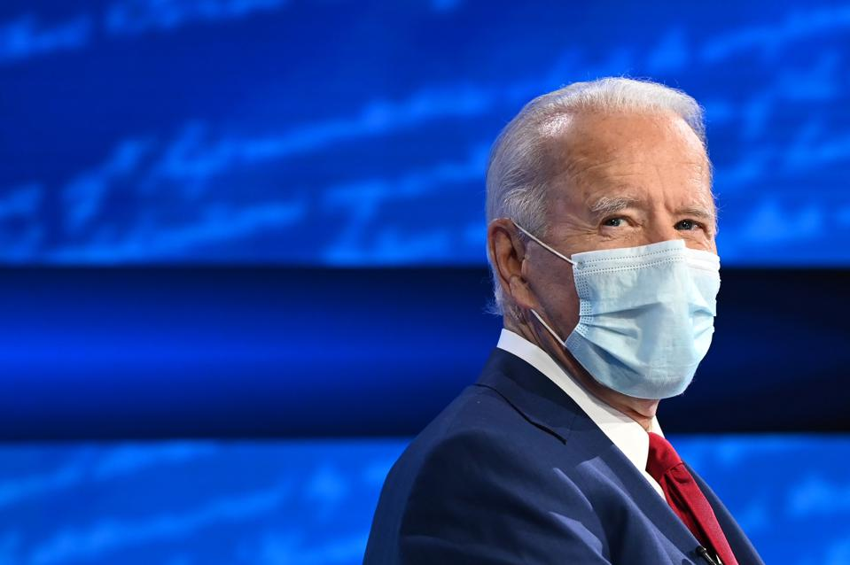 Democratic Presidential candidate and former US Vice President Joe Biden