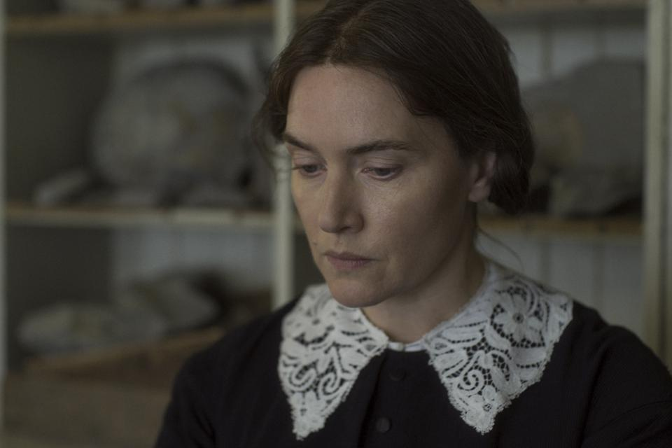 Kate Winslet as Mary Anning in Francis Lee's 'Ammonite'