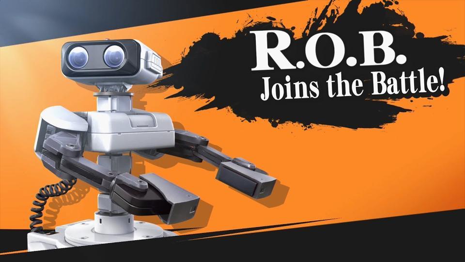 R.O.B. in Super Smash Bros