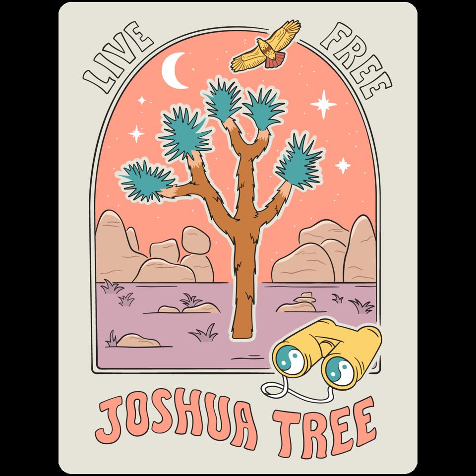 poster for joshua tree national park