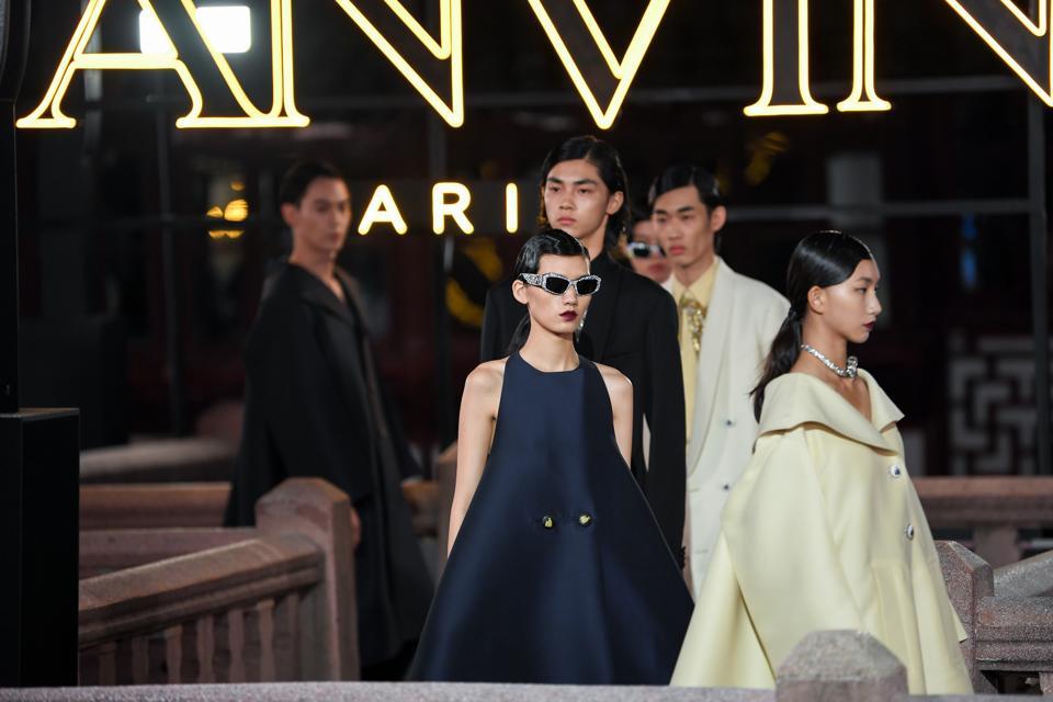 LANVIN 2021 S/S Collection Fashion Show