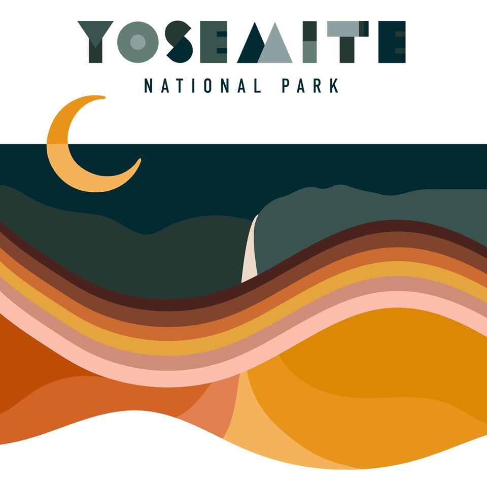 poster for Yosemite National Park