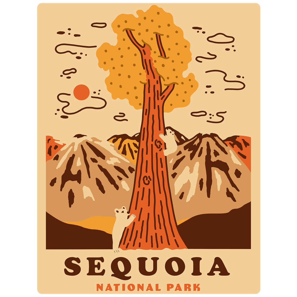 Poster for Sequoia National Park