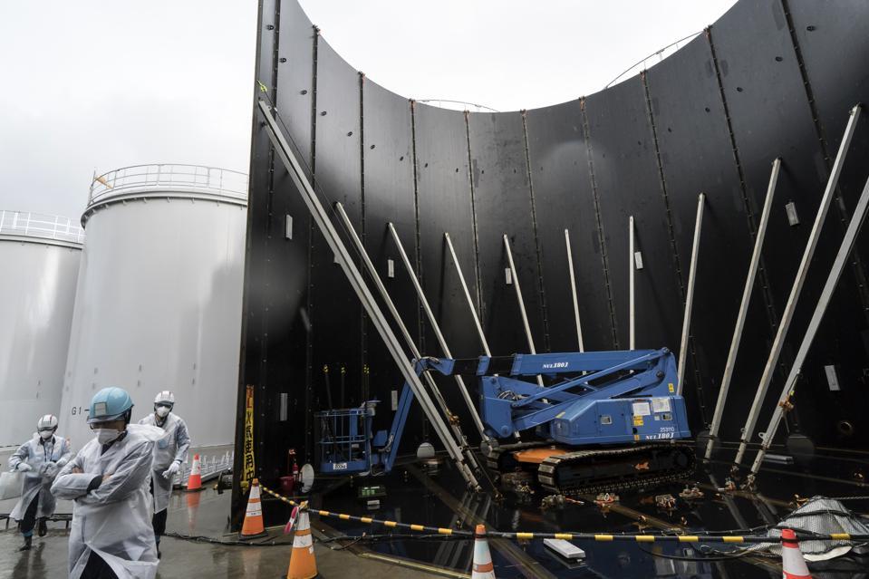 Un regard sur la centrale nucléaire Dai-ichi de TEPCO à Fukushima