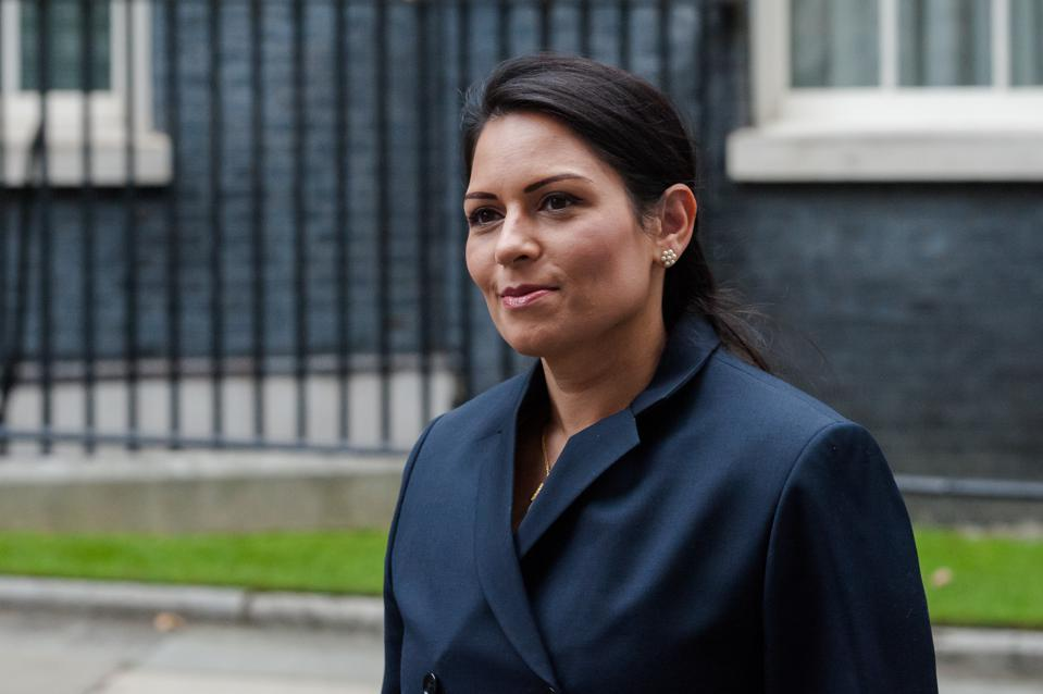 Priti Patel in London