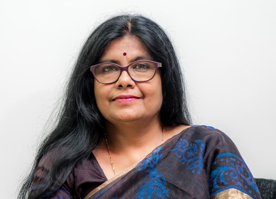 Professional portraint of Tania Rath of Xavier University, Bhubaneswar, India