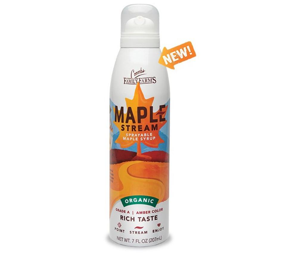 Coombs Family Farms Maple Stream Sprayable Maple Syrup Organic Grade A Amber Vermont