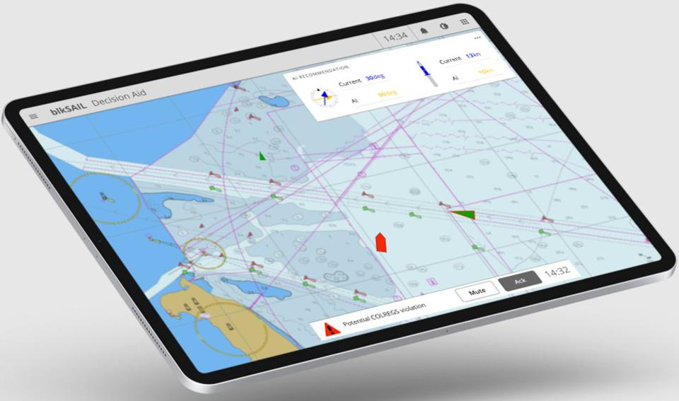 MIT spin out, BlkSail's Decision Aid software would have anticipated risks along the journey, such as a ship heading in the wrong trajectory