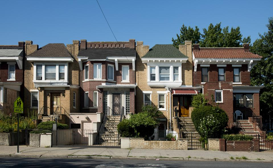 Residential Architecture in Astoria Queens New York City Family Homes