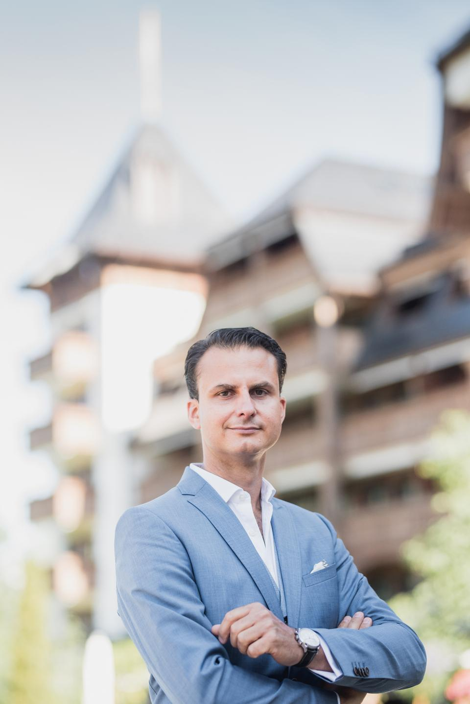 Tim Weiland, General Manager of The Alpina Gstaad