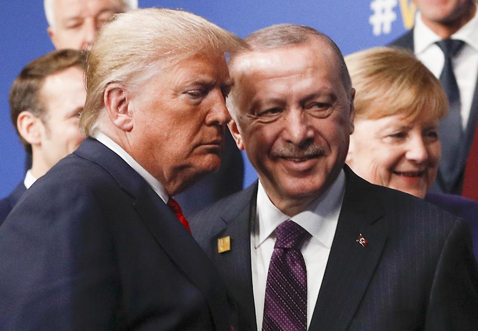 2019, Trump and Erdogan