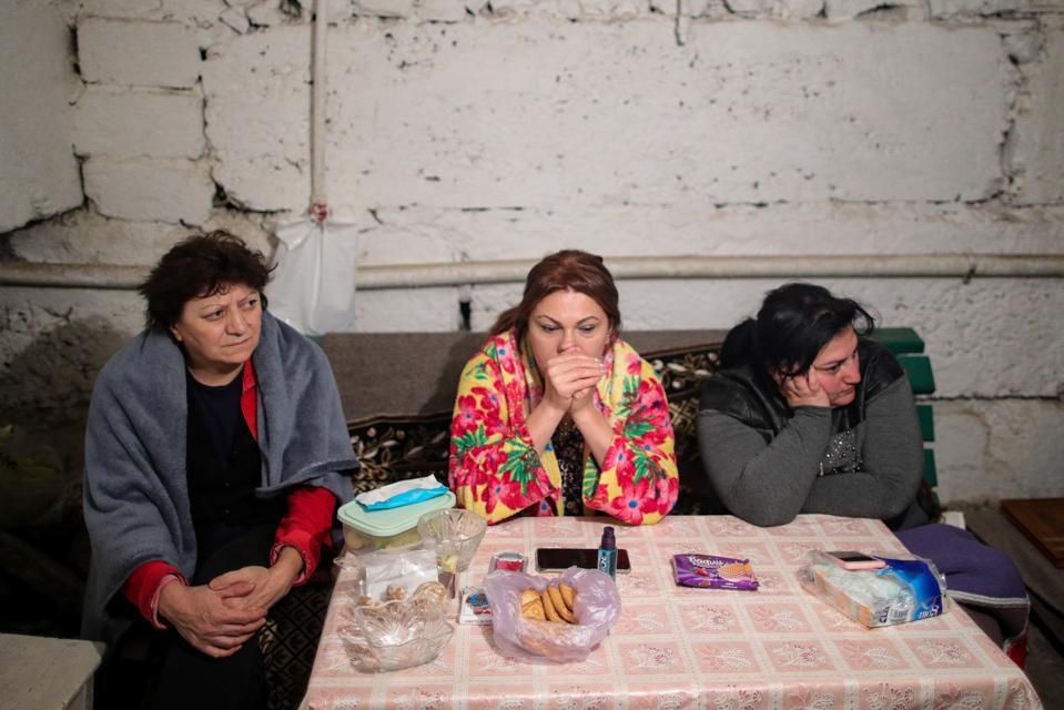 Bomb shelter, Nagorno-Karabakh