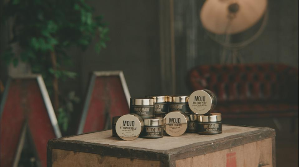 Mojo's range of hair products
