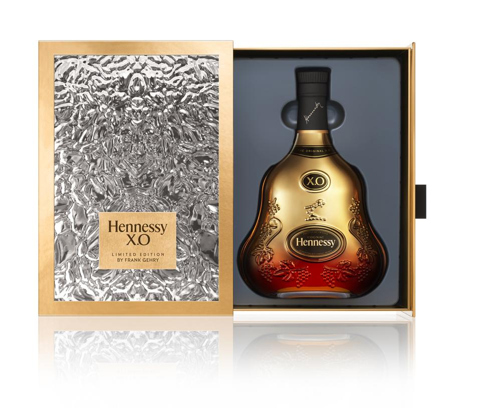 Hennessy X.O anniversary edition by Frank Gehry