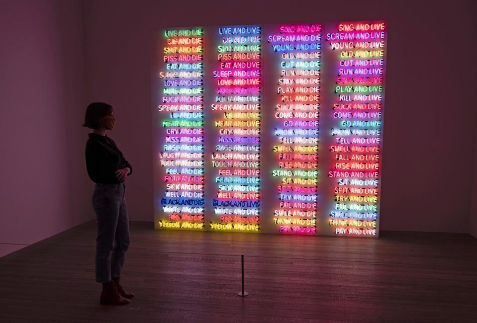 ″Bruce Nauman″ Exhibition At The Tate Modern