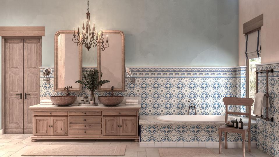 Bathroom at Residences at Rancho La Puerta