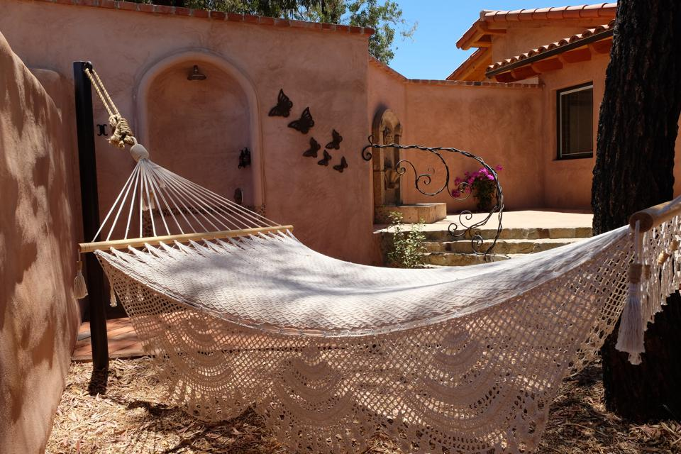 Hammock at Rancho La Puerta resort spa