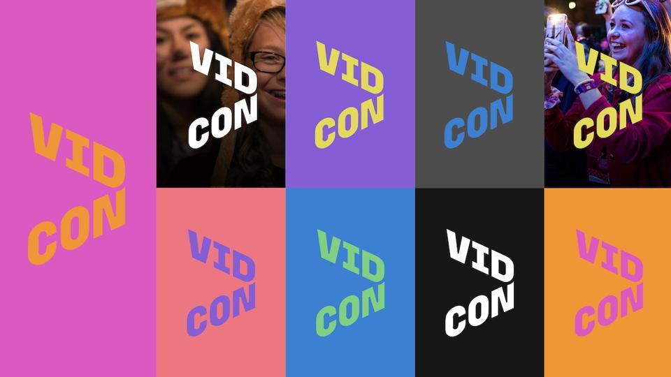 VidCon new logo 2020